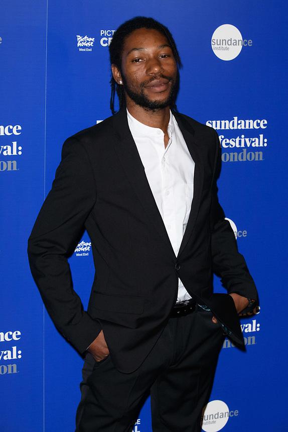 "Jumayn Hunter<br /> at the ""Yardie"" premiere as part of the Sundance London Festival 2018, Picturehouse Central, London<br /> <br /> ©Ash Knotek  D3404  01/06/2018"