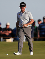 17th July 2021; Royal St Georges Golf Club, Sandwich, Kent, England; The Open Championship Golf, Day Three; Louis Oosthuizen (RSA) walks after his putt on the 17th green