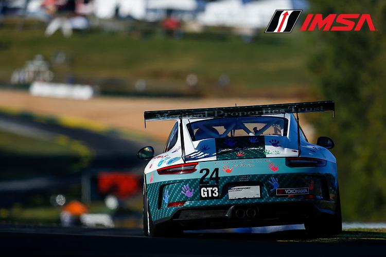 IMSA Porsche GT3 Cup Challenge USA<br /> Road Atlanta<br /> Road Atlanta, Braselton GA<br /> Thursday 5 October 2017<br /> 24, Jake Eidson, GT3P, USA, 2017 Porsche 991<br /> World Copyright: Jake Galstad<br /> LAT Images