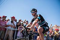 Castellon, SPAIN - SEPTEMBER 7: Michal Golas during LA Vuelta 2016 on September 7, 2016 in Castellon, Spain