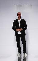 Lo stilista libanese Tony Ward sulla passerella dopo aver presentato collezione Autunno/Inverno 2013/2014, durante la rassegna Altaroma a Roma, 9 luglio 2013.<br /> Lebanese fashion designer Tony Ward on the catwalk after presenting his collection fall/winter 2013 during the Altaroma fashion week in Rome, 9 July 2013.<br /> UPDATE IMAGES PRESS/Isabella Bonotto