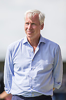 Alan Pardew (Manager) of Crystal Palace during the Friendly match between Barnet and Crystal Palace at The Hive, London, England on 11 July 2015. Photo by David Horn.