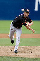 June 8, 2008: Fresno Grizzlies' Nick Pereira delivers a pitch during a Pacific Coast League game against the Tacoma Rainiers at Cheney Stadium in Tacoma, Washington.