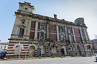 Pictured: The deserted Palace Theatre in the High Street, Swansea, Wales, UK.<br /> Re: The owner of The White Swan pub is closing down after anti-social behaviour, violence, drugs and prostitution in the High Street, Swansea, Wales, UK.