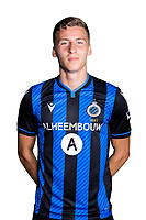 20th August 2020, Brugge, Belgium;  Ignace Van der Brempt defender of Club Brugge pictured during the team photo shoot of Club Brugge NXT prior the Proximus league football season 2020 - 2021 at the Belfius Base camp