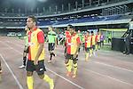 Kingfisher East Bengal vs Balestier Khalsa during the 2015 AFC Cup 2015 Group F match on April 24, 2015 at the Vivekananda Yuba Bharati Krirangan Stadium in Kolkata, India. Photo by Ruby Sarkaar / World Sport Group