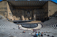 France, Provence, Orange, Theatre in Orange.