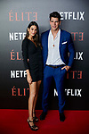 Diego Matamoros and Estela Grande attends to 'Elite' premiere at Museo Reina Sofia in Madrid, Spain. October 02, 2018. (ALTERPHOTOS/A. Perez Meca)