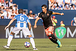 Enzo Perez of Valencia CF in action during their La Liga match between Club Deportivo Leganes and Valencia CF at the Butarque Municipal Stadium on 25 September 2016 in Madrid, Spain. Photo by Diego Gonzalez Souto / Power Sport Images