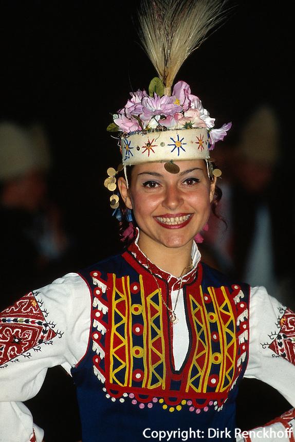 Bulgarien, Sonnenstrand, Volkstanz