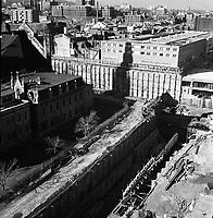 construction-de-la-station-de-metro-berri-de-montigny-octobre 1964