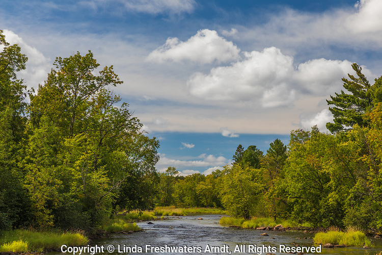 East Fork of the Chippewa River on a pretty day in September.