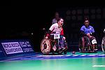 BC1 BC2 Final<br /> Thailand v Japan<br /> <br /> Takayuki Hirose, Takumi Nakamura, Hidetaka Sugimura (JPN)<br /> Worawut Saengampa, Witsanu Huadpradit, Watcharaphon Vongsa (THA)<br /> <br /> BISFed 2018 World Boccia Championships <br /> Exhibition Centre Liverpool<br /> 18.08.18<br /> ©Steve Pope<br /> Sportingwales