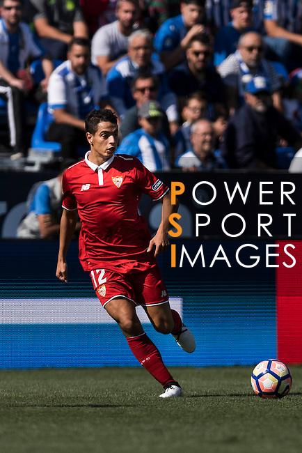 Ben Yedder of Sevilla FC in action during their La Liga match between Deportivo Leganes and Sevilla FC at the Butarque Municipal Stadium on 15 October 2016 in Madrid, Spain. Photo by Diego Gonzalez Souto / Power Sport Images