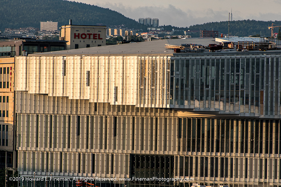 From the roof of the Oslo Opera House