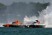 "Doug Rapp, GP-79 ""Bad Influence"", Ken Brodie II, GP-50 ""Intensity""       (Grand Prix Hydroplane(s)"
