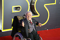 Kenny Baker attends the STAR WARS: 'The Force Awakens' EUROPEAN PREMIERE at Odeon, Empire & Vue Cinemas, Leicester Square, England on 16 December 2015. Photo by David Horn / PRiME Media Images