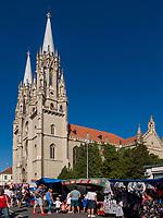römisch katholische St, Gerhard Kathedrale, Vrsac, Vojvodina, Serbien, Europa<br /> catholic St. Gerhard Cathedral, Vrsac, Vojvodina, Serbia, Europe