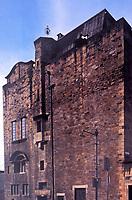 Exterior view of Glasgow School of Art, designed by Charles Rennie Mackintosh.