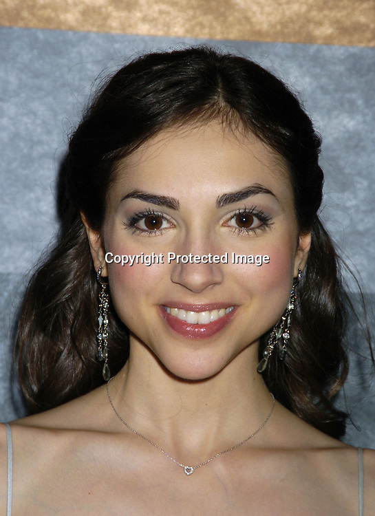 Eden Riegel ..at the Rainbow Room at the celebration for All My Childrens's 35th Anniversary after a show at Town Hall benefitting Broadway Cares Equity Fights Aids on February 7, 2005. ..Photo by Robin Platzer, Twin Images