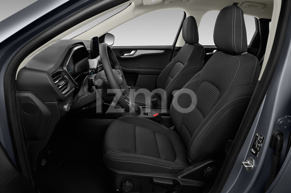 Front seat view of 2020 Ford Kuga Titanium 5 Door SUV Front Seat  car photos