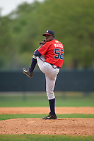 Atlanta Braves Bladimir Matos (56) during an intrasquad Spring Training game on March 29, 2016 at ESPN Wide World of Sports Complex in Orlando, Florida.  (Mike Janes/Four Seam Images)