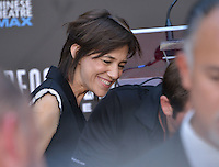 Charlotte Gainsbourg @ Emmerich Hand and Footprint Ceremony held @ the Chinese theatre.<br /> June 20, 2016.