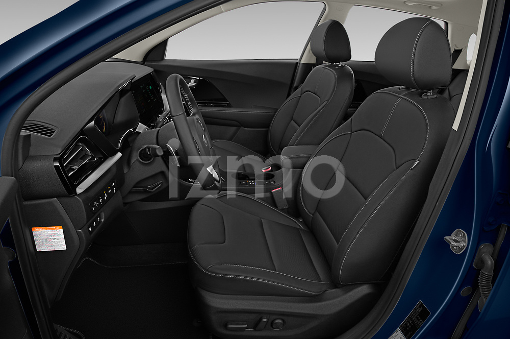 Front seat view of 2020 KIA Niro-phev Sense 5 Door SUV Front Seat  car photos