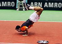 26-02-2006 Rotterdam,tennis ABNAMROWTT,bellyflip by Stepanek