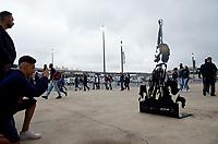 SÃO PAULO, SP, 21.09.2019: CORINTHIANS-BAHIA - Movimentação da Torcida antes do jogo. Partida entre Corinthians e Bahia, pela 20ª rodada do Campeonato Brasileiro 2019, na Arena Corinthians, neste sábado (21). (Foto: Maycon Soldan/Código19)