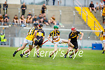 Action from Dr Crokes v Abbeydorney in the County Senior hurling championship game on Sunday