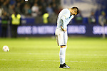 Celta de Vigo's Gustavo Cabral dejected after Spanish Kings Cup semifinal 2nd leg match. February 08,2017. (ALTERPHOTOS/Acero)