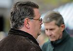 Trainer Dale Romans during Blue Grass Stakes Day on April 16, 2011 at Keeneland in Lexington, Kentucky.  (Bob Mayberger/Eclipse Sportswire)