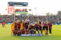 EAST HARTFORD, CT - JULY 5: The USWNT pose for a photo after a game between Mexico and USWNT at Rentschler Field on July 5, 2021 in East Hartford, Connecticut.