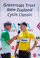 Tour leader Aaron Gate. Stage One - Lost Lake Loop (Cambridge - Kaipaki - Roto O Rangi - Leamington). 2019 Grassroots Trust NZ Cycle Classic UCI 2.2 Tour from St Peter's School in Cambridge, New Zealand on Wednesday, 23 January 2019. Photo: Dave Lintott / lintottphoto.co.nz