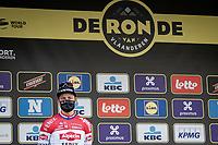 Mathieu Van der Poel (NED/Alpecin-Fenix) finishes 2nd in the 105th Ronde van Vlaanderen 2021 (MEN1.UWT)<br /> <br /> 1 day race from Antwerp to Oudenaarde (BEL/264km) <br /> <br /> ©kramon