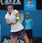Li Na (CHN) wins at Australian Open in Melbourne Australia on 20th January 2013