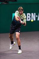 Rotterdam, The Netherlands, 3 march  2021, ABNAMRO World Tennis Tournament, Ahoy, Cameron Norrie (GBR).<br /> Photo: www.tennisimages.com/henkkoster