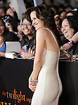 Elizabeth Reaser. at The Summit Entertainment's World Premiere of THE TWILIGHT SAGA: NEW MOON held at The Mann's Village Theatre in Westwood, California on November 16,2009                                                                   Copyright 2009 DVS / RockinExposures