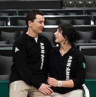13-02-11,  Tennis, Rotterdam, ABNAMROWTT 2011, Scheidsrechters echtpaar