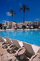 Golfhotel Abou Nawas, Plage de Sidi Mahres, Djerba, Tunesien