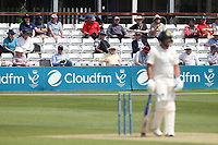 Spectators look on during Essex CCC vs Nottinghamshire CCC, LV Insurance County Championship Group 1 Cricket at The Cloudfm County Ground on 3rd June 2021