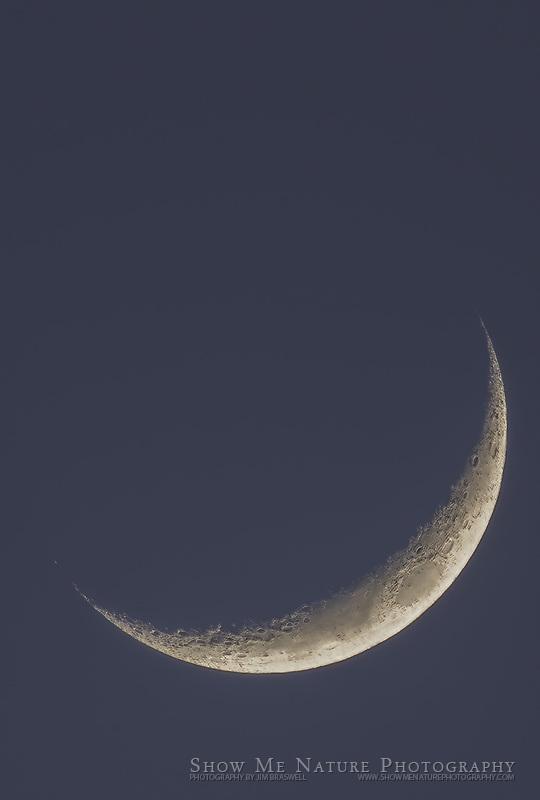 Moon over Shawnee Trails CA