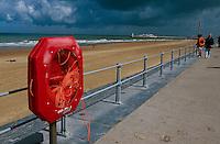 Belgien, Flandern, am Strand von Oostende