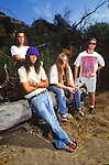 Various portrait sessions of the rock band, Kyuss