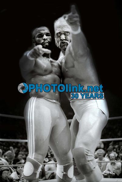 Mr T Hulk Hogan 1985<br /> Photo By Adam Scull/PHOTOlink.net