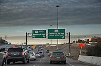 Highway 183 Research bottlenecks in traffic congestion in north Austin at the 183, Loop 360 Capital of Texas Highway and Loop 1 Mopac highway interchange.