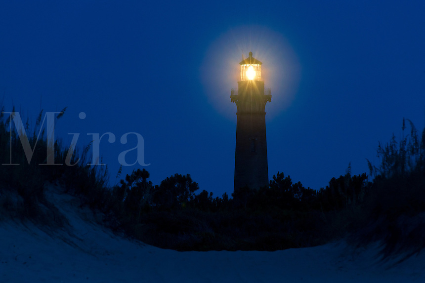 Currituck Beach Lighthouse, Corolla, Outer Banks, OBX, North Carolina. 1875