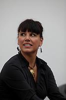 April 19, 2014 - Nathalie Bondil, Director and Curator, Museum of Fine Arts, Montreal IN PHOTO  with <br /> , John Zeppetelli General Mangaer and Curaror, Museum of Contemporary Arts (M), Montreal and Stephane Aquin, Curator - Contemporary Arts at Museum of Fine Arts, Montreal present 1+ 1 = 1 ; a joint exhibit between the 2 Museums<br /> <br /> <br /> DE Gauche a Droite : Nathalie Bondil, directrice et conservatrice en chef du MBAM , John Zeppetelli, directeur general et conservateur en chef du MAC (M) et Stephane Aquin, conservateur de l'art contemporain au MBAM peésente une exposition mettant en scène un croisement entre les collections d'art contemporain des deux institutions : 1 + 1 = 1. Quand les collections du Musee des beaux-arts et du Musee d'art contemporain de Montreal conversent.