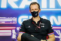 ROSSI Laurent (fra), CEO of Alpine, portrait, press conference during Formula 1 Gulf Air Bahrain Grand Prix 2021 from March 26 to 28, 2021 on the Bahrain International Circuit, in Sakhir, Bahrain -  <br /> 26/03/2021 <br /> Formula 1 Gp Bahrein <br /> Photo Florent Gooden/DPPI/Panoramic/Insidefoto <br /> Italy Only <br /> 26/03/2021 <br /> Formula 1 Gp Bahrein <br /> Photo DPPI/Panoramic/Insidefoto <br /> Italy Only